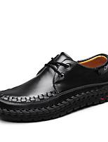 -Для мужчин-Для прогулок-Полиуретан-На плоской подошве-Удобная обувь-Мокасины и Свитер