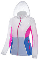 LEIBINDI® Women's Jacket Tops Fishing Climbing Hiking Fishing Breathable Quick Dry Windproof Ultraviolet Resistant Sunscreen
