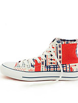 Women's Sneakers Spring Comfort Couple Shoes Canvas Casual Blue Red Black