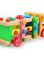 Blocos de Construir Brinquedo Educativo para presente Blocos de Construir Carro Madeira 2 a 4 Anos 5 a 7 Anos Brinquedos