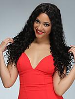 Дешевые 8'-26'full парики человеческих волос шнурка бразильские полные парики человеческих волос париков шнурка unprocessed естественная с