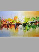 Hand-Painted Modern Abstract Oil Paintings On Canvas For Home Decoration With Stretched Frame Ready To Hang