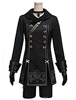 Inspired by Cosplay Cosplay Anime Cosplay Costumes Cosplay Suits Vintage Long Sleeve For Unisex