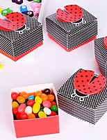 12 Piece/Set Favor Holder-Creative Card Paper Favor Boxes Candy Bags  6 x 6 x 3.8 cm/pcs Beter Gifts® Tea Party Decoration