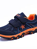 Boys' Athletic Shoes Spring Fall Light Soles PU Casual Flat Heel Magic Tape Royal Blue Red Dark Blue Walking