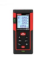 UNIT UT393A Handheld Digital 120m 635nm Laser Distance Measurer with Distance & Angle Measurement(1.5V AAA Batteries)