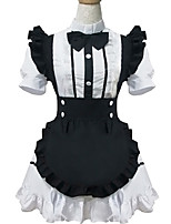 Outfits Sweet Lolita Lolita Cosplay Lolita Dress Solid Short Sleeve Short / Mini For