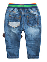 Boys' Casual/Daily Solid Pants-Modal Summer