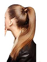 18inch зажим в высоком обтягивании ponytail вокруг -80gram 100% реальное выдвижение человеческих волос легкое износ