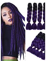 Box плетенки Огромный Наращивание волос Kanekalon косы волос