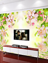 Floral 3D Wallpaper For Home Contemporary Wall Covering  Canvas Material Adhesive required Mural  Room WallcoveringXXXL(416*254cm)XL(312*219cm)