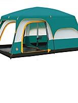Duplo Barraca de acampamentoCampismo Viajar-Verde