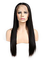 Straight Wig Lace Front Wigs Brazilian Remy Hair Natural Hairline With Baby Hair Full Lace Wigs For Black Women