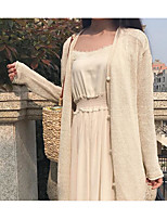 Women's Going out Casual/Daily Street chic Sophisticated Blouse Dress Suits,Solid Off Shoulder