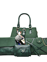 Women PU Formal Casual Event/Party Bag Sets Arm Green Gray Ruby Black