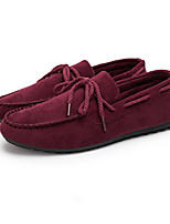 Men's Loafers & Slip-Ons Spring Summer Fall Comfort Fabric Casual Flat Heel Lace-up