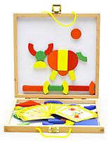 Набор для творчества Обучающая игрушка Для получения подарка Конструкторы Модели и конструкторы Круглый Квадратная Треугольник Дерево2-4