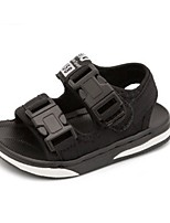 Boys' Sandals Summer First Walkers Leatherette Casual Flat Heel Blue Black