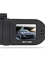 Mini 0807 1296p coche dvr grabadora de video digital - negro
