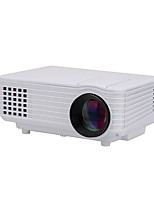 LCD WVGA (800x480) Projecteur,LED 1000 Mini Portable HD Projecteur