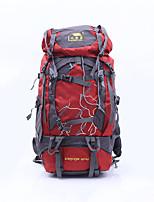 56 L Sac à Dos de Randonnée Escalade Sport de détente Camping & Randonnée Multifonctionnel