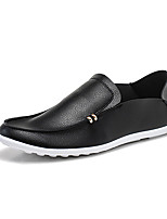 Men's Loafers & Slip-Ons Spring Summer Fall Comfort PU Casual Flat Heel
