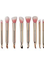 Conjuntos de pincel Pincel para Blush Pincel para Sombra Pincel para Lábios Pincel de Sombrancelha Pincel para Corretivo Pincel para Base