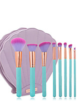 10 Makeup Brushes Set Eyeshadow Brush Lip Brush Brow Brush Eyelash Brush Concealer Brush Powder Brush Foundation