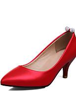 Femme-Mariage Habillé Soirée & Evénement--Gros Talon Kitten Heel-Chaussures formelles-Chaussures à Talons-Similicuir