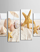Giclee Print Landscape Style Modern,Four Panels Canvas Any Shape Print Wall Decor For Home Decoration