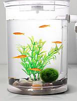 Aquarium Decoration Mini Aquariums OrnamentWith Switch(es) Energy Saving Noiseless Non-toxic & Tasteless Sterilize Artificial Adjustable