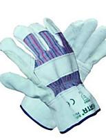 Gants étoile l gants de travail à moitié cuir économique gants de protection industriels