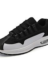 Для мужчин Спортивная обувь Удобная обувь Тюль Весна Лето Для прогулок Повседневный Для занятий спортом Беговая обувь ШнуровкаНа плоской