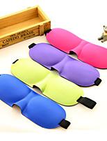 Viagem Máscara de Dormir Descanso em Viagens Respirabilidade Portátil Proteção Solar Sem Eletricidade Estática Dobrável Poliéster