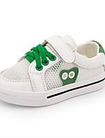 Boys' Sneakers Spring Fall Comfort Cowhide Casual Flat Heel Green Red