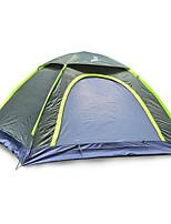 2 Pessoas Tenda Único Tenda Dobrada Um Quarto Barraca de acampamento 1000-1500 mm Fibra de Vidro Oxford Prova de Água Portátil-Equitação