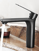 Traditional Centerset Widespread with  Ceramic Valve Single Handle One Hole for  Oil-rubbed Bronze , Bathroom Sink Faucet