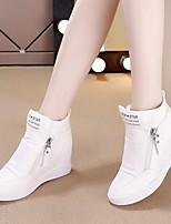 Women's Sandals Spring Comfort PU Casual Blushing Pink Silver Black White