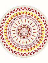 1pc Couverture de Voyage Pliable Antibactérien Élastique pour Repos de Voyage Polyester-Rouge