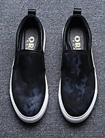 -Для мужчин-Для прогулок Повседневный-Ткань-На плоской подошве-Удобная обувь-Мокасины и Свитер