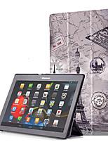 Capa de impressão para lenovo tab3 guia 3 10 business x70f x103f tb3-x70m com filme de tela