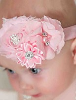 Girls New Chiffon Shabby Burrs Headdress Flower Children Hair Band Photo Props Party Children Hair Band
