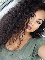 New Style Brazilian Virgin Hair Lace Wigs Kinky Curly Virgin Hair Wig with Baby Hair Lace Front Human Hair Wig for Black Woman