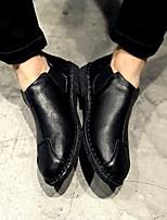 -Для мужчин-Повседневный-Микроволокно-На низком каблуке-Удобная обувь-Мокасины и Свитер