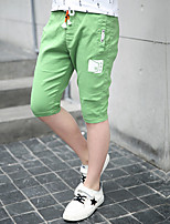 Boys' Casual/Daily Print Pants-Cotton Polyester Summer