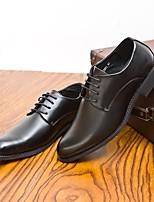 -Для мужчин-Повседневный-Полиуретан-На низком каблуке-Удобная обувь-Мокасины и Свитер
