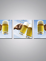 Stretched Canvas Prints Beer Glass Contemporary Art for Wall Decoration