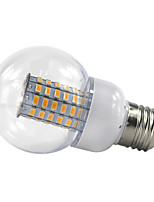 4.5W E27 Ampoules Globe LED 69 SMD 5730 420 lm Blanc Chaud Blanc Froid V 1 pièce