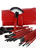 21 Red Makeup Brush Sets Make-up Tools Brush Sets Brush Foundation