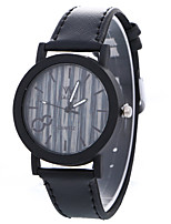 Women's Fashion Analog Stripe Ladies' Stripe Display Strap Bohemia Quartz Wrist Watch